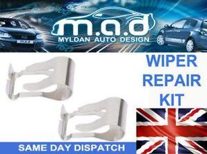 2PCs Wiper Linkage Repair Clips For Fiat Brava Bravo Doblo Punto Coupe Stilo