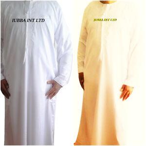 JUBBA /JUBBAH OMANI / ARAB THOBE/DRESS OFF WHITE