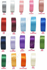 Single-Sided Wire-Edged Craft Ribbons 1-5 Length (Mtrs/Yds)