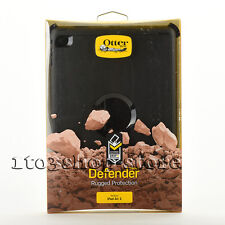 Otterbox Defender Rugged Hard Shell Case Cover for iPad Air 2 w/Stand (Black)