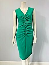 Coast Christmas party dress NEW WITH TAGS Ruched front sizes 8-20 green