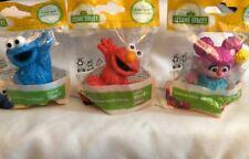 SESAME STREET Elmo, Cookie Monster, Abby Cadabby Figure Toy/Cake Topper