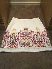 Chelsea & Violet Size Medium Skirt 100% Cotton Woman's