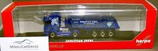 "Herpa 121460 : Scania R09 HL baukipper-tractor ""CHRISTIAN Sanaani TRANSPORTES"""