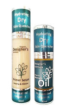 PRIMER SERUM, OIL or BOTH for DRY Skin - SUPER HYDRATING CERTIFIED ORGANIC
