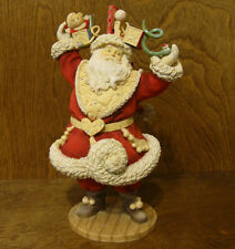 "The Heart of Christmas #4038656 ""BELIEVE"" SANTA, 10.43"" by Karen Hahn, New/Box"