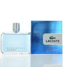 Essential Sport By Lacoste For Men   Eau De Toilette 4.2 OZ 125 ML Spray