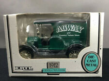 VINTAGE ERTL 1912 AGWAY OPEN CAB FORD DIE-CAST COIN BANK