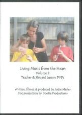 Living Music From The Heart Vol II DVD Set 2010 Lesson Plans Pentatonic Songs