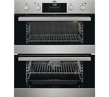 AEG DUB331110M 60 cm Electric Double Oven - Stainless Steel