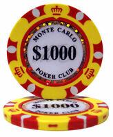 90-8101 Casino Royale $1 Poker Chips 14g 25 Chips