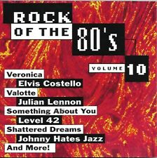 Rock Of The 80's Volume 10 - 1994 Priority CD - Julian Lennon, Boy George +