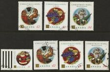 Canada 1992 SG 1525 - 1528 Christmas  Sheet & Booklet stamps Fine Used   #M020