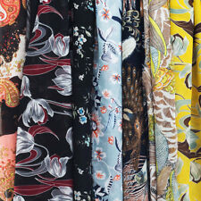 1/2Yard Fashion Chiffon fabric Floral Prints Soft Georgette Dress/Clothes Sewing