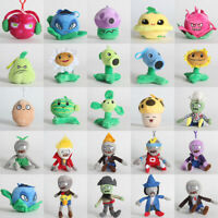 Plants vs Zombies 2 PVZ Figures Plush Baby Toy Stuffed Hang Dolls Gifts 10-18cm