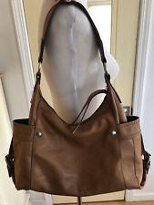 FOSSIL British Tan Soft Leather Hobo Shoulder Bag