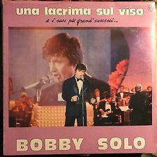 BOBBY SOLO • Una Lacrima Sul Viso, E I Suoi Più Grandi Successi ... • VINILE LP