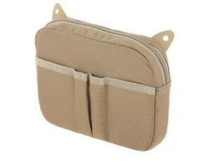Maxpedition HLPTAN Tan Advanced Gear Research Hook & Loop Pocket Pouch Case