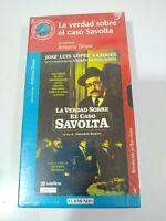 La Verdad Sobre el Caso Savolta Lopez Vazquez VHS Cinta Español Nueva