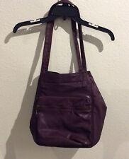 Vintage Capezio Leather Shoulder bag Purse Carry All Black