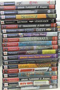 Mixed PlayStation 2 Game Lot (20)