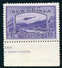 New Guinea 1935 KGV £2 bright violet superb MNH. SG 204. Sc C44.