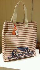 Superdry Cotton Canvas Herman Shopper Bag Authentic