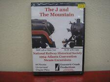 The J & The Mountain 1994 NRHS Atlanta Steam Excursions DVD N&W 611 Frisco 1522
