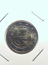 2 EURO SLOVAQUIE 2009 10 ANS EURO EMU COMMEMORATIVE NEUVE
