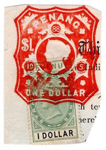 (I.B) Malaya States Revenue : Penang Duty $1