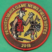 Pa Game Fish Commission RECENTLY RELEASED 2018 NEW Pennsylvania Game News Patch