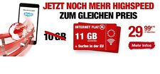 11GB Internet Flat ✔ Ortel Mobile ✔ o2 Telefonica ✔ 11 GB Daten Flat ✔ 4G LTE
