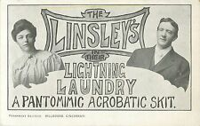 """The Linsley's in Their Lightning Laundry"", An Acrobatic Skit, Cincinnati OH"