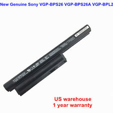 OEM Genuin BPS26 VGP-BPS26A VGP-BPL26 Battery for SONY VAIO CA CB EG Series 59WH