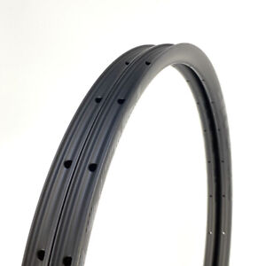 "LAST STOCK 24mm Width Carbon Fiber 27.5"" Mountain Bike Clincher Rim 1PAIR"