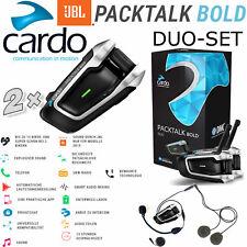 Cardo auriculares packtalk Bold 2020 JBL-Sound DMC-Interkom hasta 15 Biker doppelset