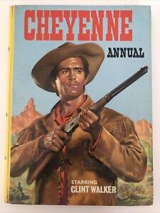 Cheyenne Annual 1960 Rare Starring Clint Walker tv film tie in , Hardcover