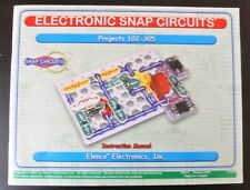 Electronic Snap Circuits  Projects 102-305 Instruction Manual