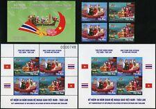 Vietnam 2016 Thailand Gemeinschaftsausgabe 3715-3716 Block 167 A + B Markenheft