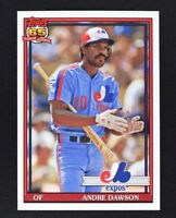 2016 Topps Archives #262 Andre Dawson - NM-MT
