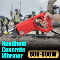 Electric Held Concrete Vibrator 600-800W Cement Vibrating Poker Bubble Remover
