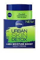 Nivea Urban Skin Detox Night Cream +48h Moisture Boost 50ml