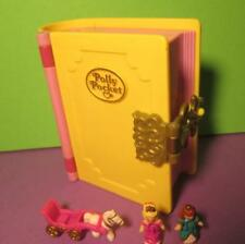 Polly Pocket Mini Buch ♥ Glitzer Palast ♥ Princess Palace ♥ 100% komplett ♥1995♥