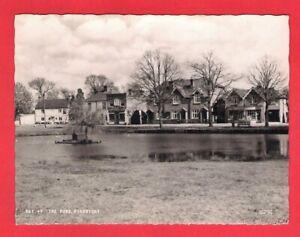 Vintage B&W Postcard ~ The Pond, Pirbright - Frith's Series Reigate PBT.47