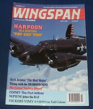 WINGSPAN MAGAZINE JULY 1994 - HARPOON IN A VENTURA 'FAT CAT TOO'