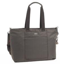 "Hedgren RFID Large Travel Tote Swing 13"" Laptop Water Repelant Handbag Grey"