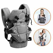 HUIMO Baby Carrier, Ergonomic Design Infant Sling Convertible with Breathable