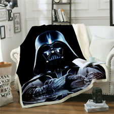Star Wars 3D Print Sherpa Blanket Sofa Couch Quilt Cover Throw Blanket Thicken