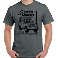 Defenders T-Shirt 4X4 90 110 SVX Rover Manual Haynes Style Mens Funny Top