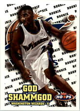 1997-98 Hoops Washington Wizards Basketball Card #204 God Shammgod Rookie